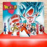 Kit Festa Prata Dragon Ball Super - IMPAKTO VISUAL