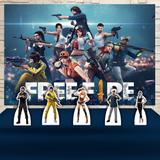 Kit Festa Prata Free Fire - IMPAKTO VISUAL
