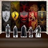Kit Festa Prata Game O Thrones  - IMPAKTO VISUAL