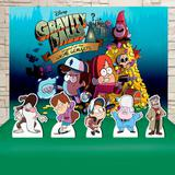 Kit Festa Prata Gravity Falls - IMPAKTO VISUAL