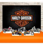 Kit Festa Prata Harley Davidson  - IMPAKTO VISUAL