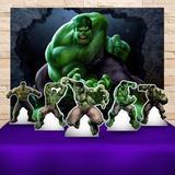 Kit Festa Prata Hulk - IMPAKTO VISUAL