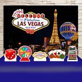 Kit Festa Prata Las Vegas - IMPAKTO VISUAL