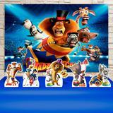 Kit Festa Prata Madagascar 3 Circo - IMPAKTO VISUAL