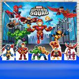 Kit Festa Prata  Marvel Super Hero Squad  - IMPAKTO VISUAL