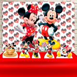 Kit Festa Prata Mickey e Minnie  - IMPAKTO VISUAL