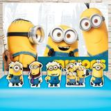 Kit Festa Prata Minions  - IMPAKTO VISUAL