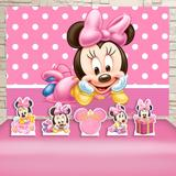 Kit Festa Prata Minnie Baby  - IMPAKTO VISUAL