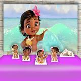 Kit Festa Prata Moana Baby  - IMPAKTO VISUAL