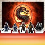Kit Festa Prata Mortal Kombat  - IMPAKTO VISUAL