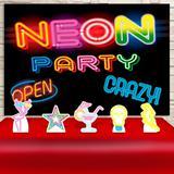 Kit Festa Prata Neon Party  - IMPAKTO VISUAL