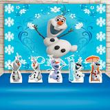 Kit Festa Prata Olaf Frozen  - IMPAKTO VISUAL