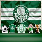 Kit Festa Prata Palmeiras Futebol  - IMPAKTO VISUAL