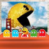 Kit Festa Prata Pixel Pac Man  - IMPAKTO VISUAL