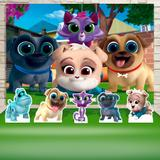 Kit Festa Prata Puppy Dog Pals  - IMPAKTO VISUAL