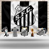 Kit Festa Prata Santos Futebol  - IMPAKTO VISUAL