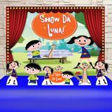 Kit Festa Prata Show da Luna  - IMPAKTO VISUAL