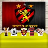 Kit Festa Prata Sport Club Do Recife  - IMPAKTO VISUAL