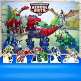 Kit Festa Prata Transformers Rescue Bots  - IMPAKTO VISUAL