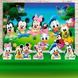Kit Festa Prata Turma Do Mickey Baby  - IMPAKTO VISUAL