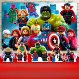 Kit Festa Prata Vingadores Lego   - IMPAKTO VISUAL