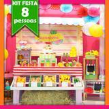 Kit Festa Quitandinha 08 Pessoas Econômico - Festabox