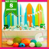 Kit Festa Surf 08 pessoas econômico - Festabox
