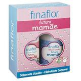 Kit Fina Flor Futura Mamae Sabonete Liquido e Hidratante Corporal 500ml - Finaflor