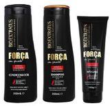 Kit Força Com Pimenta SH + Cond. 350ml + Másc. 250g - Bio extratus