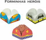 Kit Forminha 4 Pétalas Heróis - Atacadão das lembranças