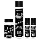Kit Full Hair - 1 Shampoo 300mL + 2 Tônicos 30mL (cada) + 1 Frasco 60 Caps - Saúde Garantida
