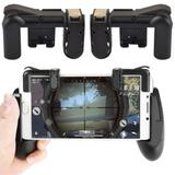 Kit Gamepad + Gatilho Mira Tiro Controle Celular L1 R1 para Free Fire - Xzeng