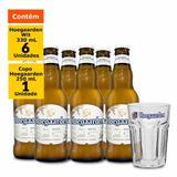 Kit Hoegaarden Wit (6 Unidades) + Copo Hoegaarden 250 ml (1 Unidade)
