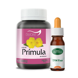 Kit Homeopático TPM Free 60mL + 60 Cápsulas de Óleo de Prímula 500mg - Botica alternativa
