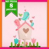Kit Jardim Encantado 08 Pessoas - Festabox