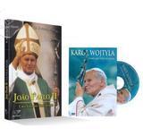 Kit joão paulo ii - livro + dvd karol wojtyla - Armazem