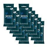Kit Jontex Preservativo Lubrificado XL Sensitive c/6 - 12 unid.