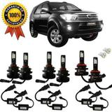 Kit Lampada Super Led Plus Toyota Hilux Sw4 2010 Farol Milha - Cinoy