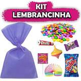 Kit Lembrancinha Lilás 10 unidades - Festabox