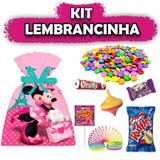 Kit Lembrancinha Minnie Rosa 08 unidades - Festabox