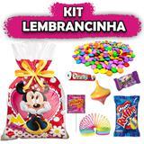 Kit Lembrancinha Minnie Vermelha 08 unidades - Festabox