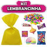 Kit Lembrancinhas Amarelo 10 unidades - Festabox