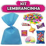 Kit Lembrancinhas Azul Claro 10 unidades - Festabox