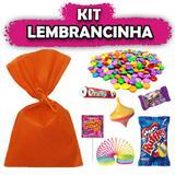 Kit Lembrancinhas Laranja 10 unidades - Festabox