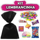 Kit Lembrancinhas Preto 10 unidades - Festabox