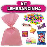 Kit Lembrancinhas Rosa Claro 10 unidades - Festabox