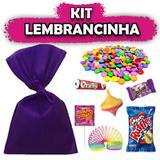 Kit Lembrancinhas Roxo 10 unidades - Festabox