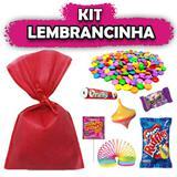 Kit Lembrancinhas Vermelho 10 unidades - Festabox