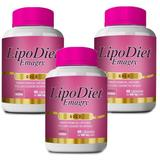 Kit Lipo Diet Emagry Gold - 3 unidades