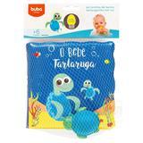 Kit Livrinho De Banho Tartaruguinha Com Luz 7495 - Buba